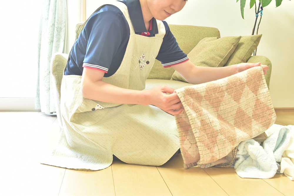 洗濯、布団干し